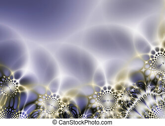 ornamental abstract background - Abstract composition, lacy ...