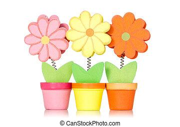 ornamental, af træ, blomster