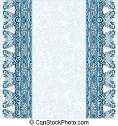 ornamental background with flower ribbon, stripe pattern,...