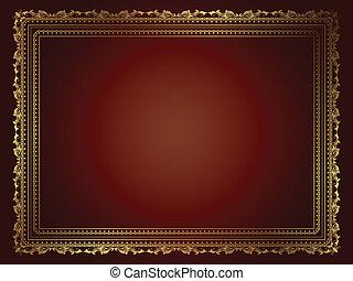 ornamental, baggrund