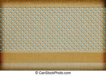 ornamental, begreb, fabric, photobook, baggrund., scrapbog