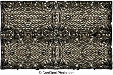 Ornamental Bronze Texture