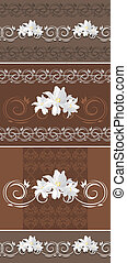 Ornamental brown borders