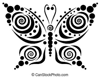 Ornamental butterfly 5.