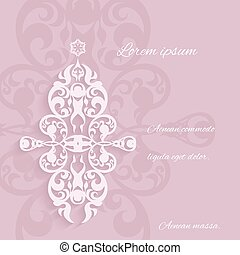 Ornamental elements classic style