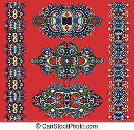 ornamental ethnic decorative floral adornment
