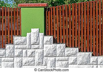Ornamental fence 8