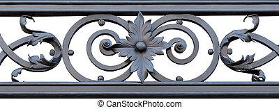 ornamental, ferro forjado