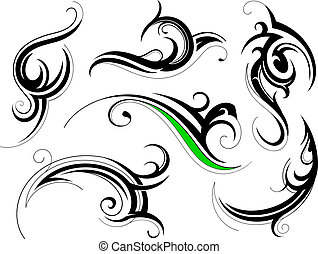 ornamental, forme