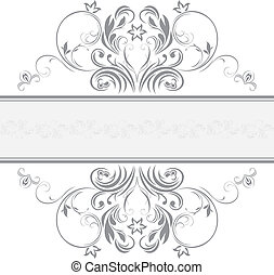 Ornamental frame for design