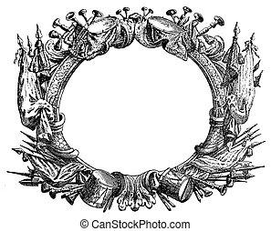 ornamental frame