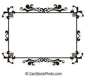 ornamental frame template
