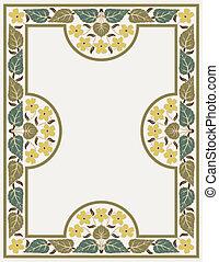 ornamental  frame vintage