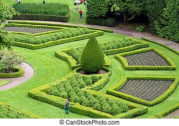 Ornamental Garden, Scotland