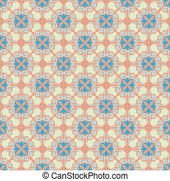 ornamental pattem, pastel