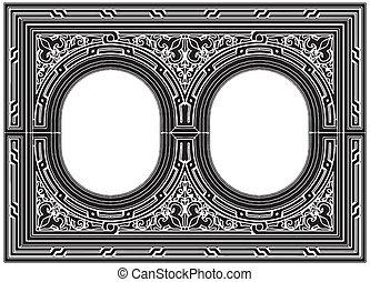 ornamental, quadro