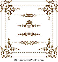 ornamental, ramme