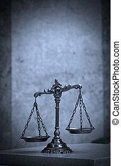 ornamental, retfærdighed skalaer