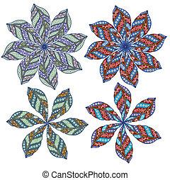Ornamental round lace  - Ornamental round Paisley