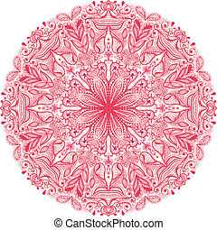 ornamental round pattern