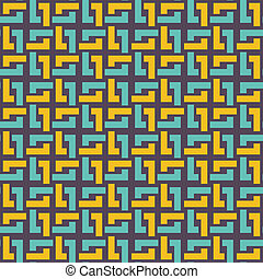 Ornamental seamless pattern. Abstract background.
