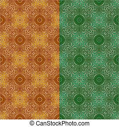 Ornamental seamless pattern. Vecto