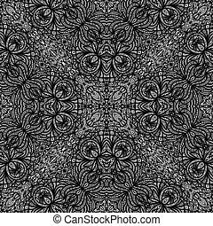 Ornamental seamless tiling texture