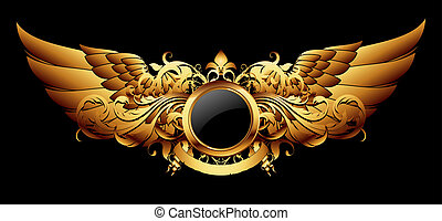 ornamental shield, this illustration may be useful as ...