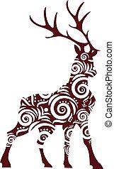 ornamental stag