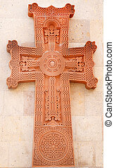 Christian cross in the Temple