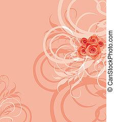 Ornamental stylish background