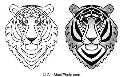 Ornamental Tiger Set