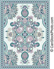 ornamental, ucranio, seamless, diseño, floral, oriental,...