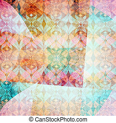 ornamental watercolor background