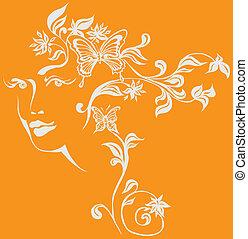ornamentale, composizione