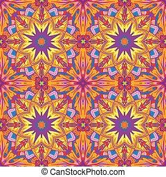ornamentale, decorazione, laccio, colorito, orientale, viola, modello, matrimonio, ornamento, augurio, marocchino, inviti, tradizionale, fondo., vettore, disegno, ornare, elemento, style., schede.