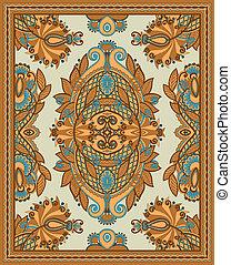ornamentale, disegno, seamless, moquette