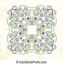 ornamentale, mandala, fondo