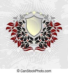 ornamentale, scudo