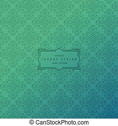 ornamentale, turchese, motivi dello sfondo