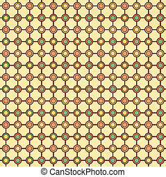 ornamentale, vecchio, modello, struttura, carta, geometrico