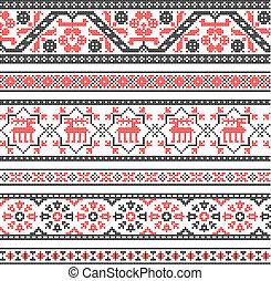 ornamento, bordado