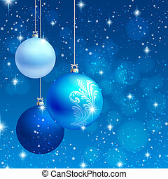 ornamento de navidad, vector, plano de fondo, tarjeta