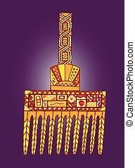 ornamentos, africano