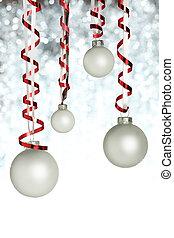 ornamentos de navidad, ahorcadura