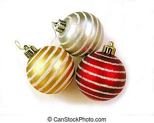 Primer plano rbol rbol ornamentos de navidad - Ornamentos de navidad ...