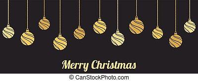 ornaments., gelul, kerst decoraties, hangend
