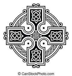 ornaments., keltisch, national