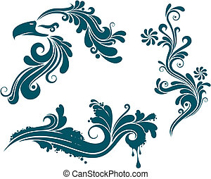 ornaments pattern design.