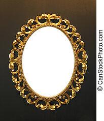 Ornate antique frame
